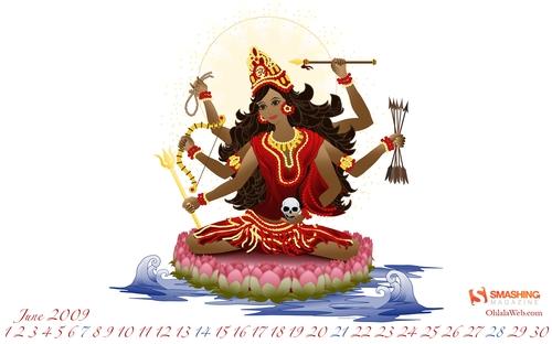 Prana Shakti Calendar Design « Sita's Yoga Blog
